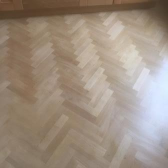 Parquet floor sanding and repairs, Edinburgh, Victoriand Floor Restore
