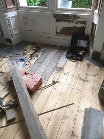 Floor sanding and repairs, Victorian Floor Restore Edinburgh